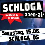 Logo Schloga Open Air 2019 Osnabrück 15.6.